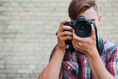 Sorriso à câmera! Fotos de Stock