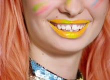 Sorriso fotografie stock