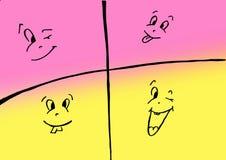 Sorriso illustrazione vettoriale