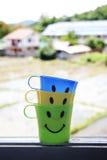 Sorriso:) Imagens de Stock