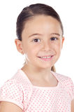 Sorriso adorável da menina Imagem de Stock Royalty Free
