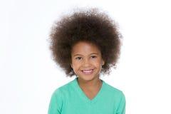 Sorriso africano da criança Imagem de Stock