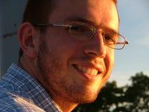 Sorriso amichevole Fotografie Stock Libere da Diritti