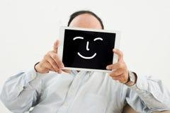 Sorriso artificiale fotografia stock libera da diritti