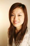 Sorriso asiático da senhora do escritório Fotos de Stock Royalty Free