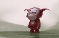 Sorriso assustador Imagem de Stock