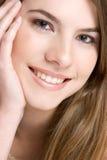 Sorriso bonito Fotografia de Stock Royalty Free