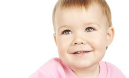 Sorriso bonito da criança Fotos de Stock Royalty Free