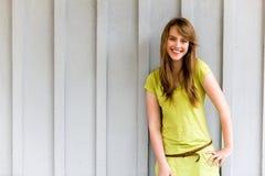 Sorriso bonito da menina Imagens de Stock