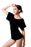 Sorriso bonito da mulher asiática Imagens de Stock