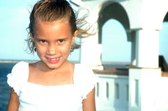 Sorriso bonito de Childs Imagem de Stock