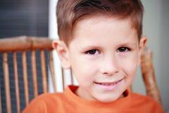 Sorriso bonito do menino Foto de Stock Royalty Free