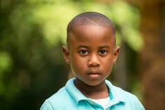 Sorriso bonito do rapaz pequeno Fotografia de Stock
