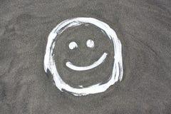 Sorriso da areia Foto de Stock