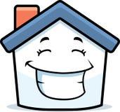 Sorriso da casa Foto de Stock Royalty Free