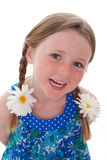 Sorriso da criança Imagem de Stock Royalty Free