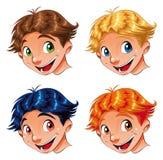 Sorriso da criança ilustração do vetor