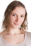 Sorriso da jovem mulher Foto de Stock