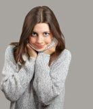Sorriso da jovem mulher fotos de stock