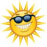 Sorriso da luz do sol ilustração do vetor