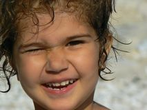 Sorriso da menina fotos de stock royalty free