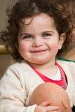 Sorriso da menina Foto de Stock