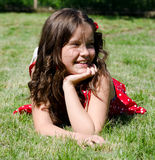 Sorriso da menina Fotografia de Stock