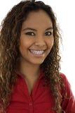 Sorriso da mulher fotografia de stock