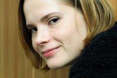 Sorriso da mulher Fotos de Stock
