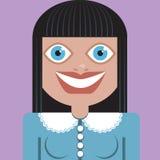 Sorriso da mulher Ilustração Royalty Free
