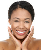 Sorriso da mulher fotos de stock royalty free