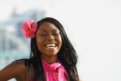 Sorriso da mulher Imagem de Stock