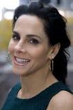 Sorriso da mulher de negócio Fotografia de Stock Royalty Free