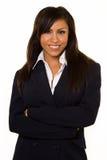 Sorriso da mulher de negócio Imagem de Stock Royalty Free