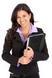 Sorriso da mulher de negócio Foto de Stock