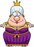 Sorriso da rainha dos desenhos animados Fotos de Stock