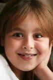 Sorriso da rapariga Imagem de Stock