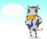 Sorriso da vaca Ilustração Royalty Free