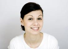 Sorriso das jovens mulheres Foto de Stock