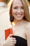 Sorriso das mulheres Fotos de Stock Royalty Free