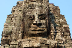 Sorriso de cambodia Imagens de Stock