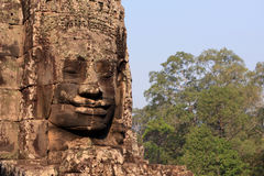 Sorriso de cambodia Imagens de Stock Royalty Free
