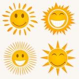 Sorriso de Sun Imagem de Stock Royalty Free