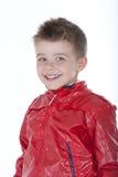 retrato do bebê de sorriso Imagens de Stock