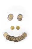 Sorriso dei soldi Fotografie Stock