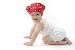 Sorriso del bambino fotografia stock