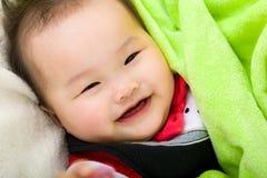 Sorriso del ragazzino fotografia stock libera da diritti