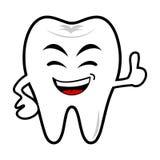 Sorriso del ragazzo del dente Fotografie Stock