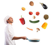 Sorriso dell'alimento immagini stock libere da diritti