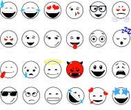 Sorriso dell'insieme illustrazione di stock